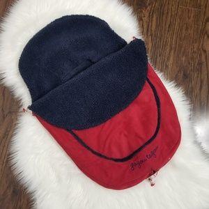 Gagou Tagou | Fleece Lined Car Seat Cover Zippered